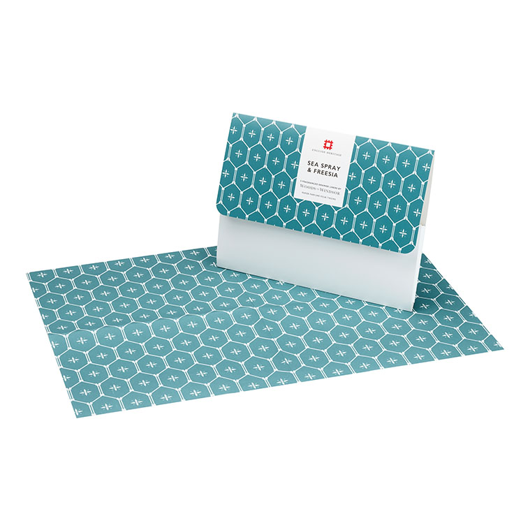 Sea Spray & Freesia Drawer Liners