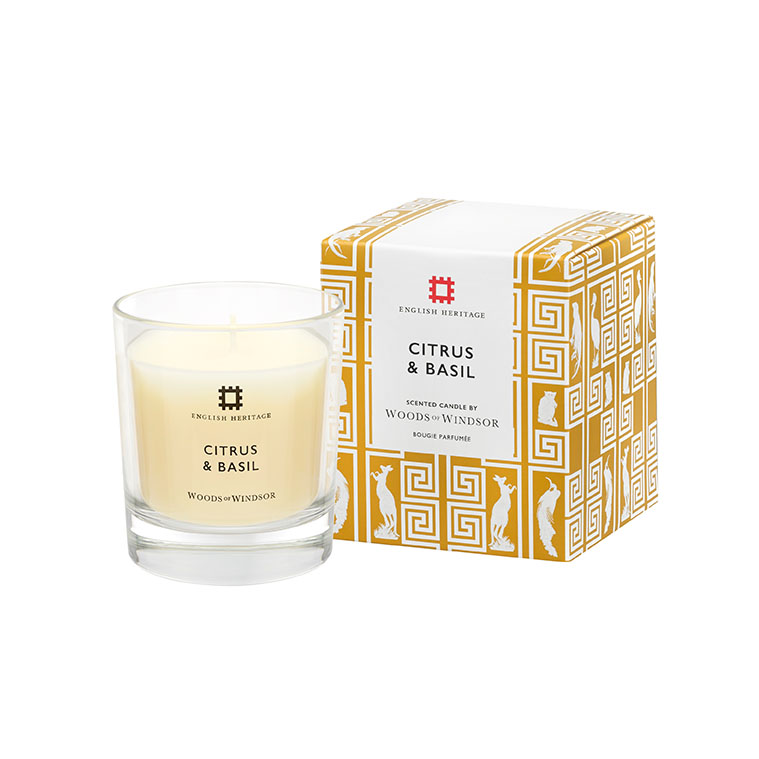 Citrus & Basil Fragranced Candle