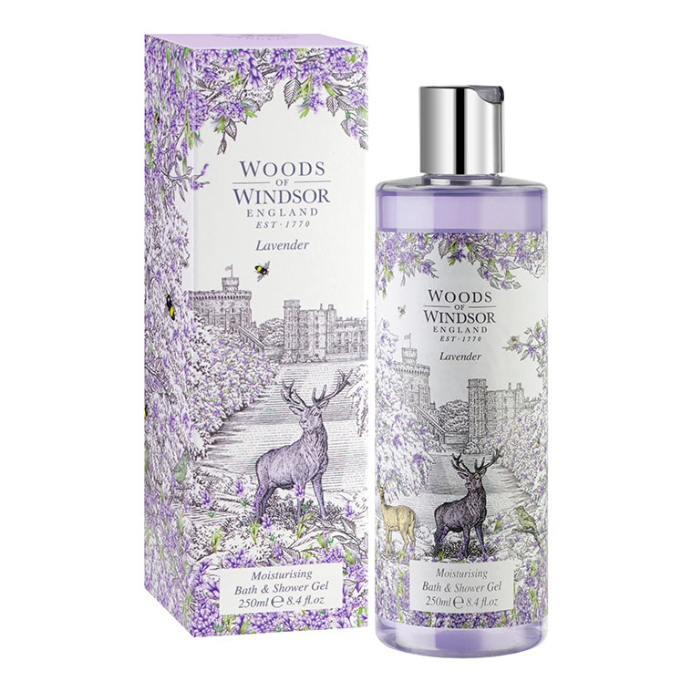 Lavender Moisturising Bath & Shower Gel