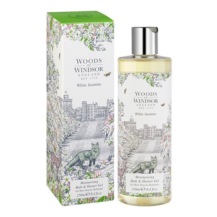 White Jasmine Moisturising Bath & Shower Gel
