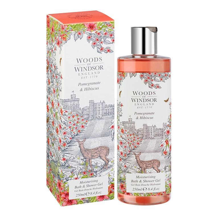 Pomegranate & Hibiscus Moisturising Bath & Shower Gel
