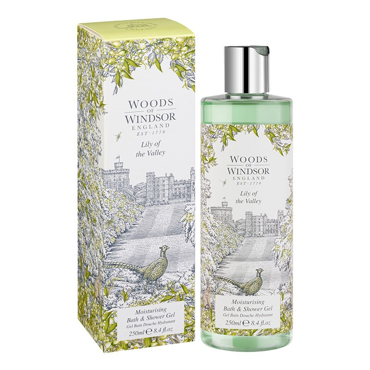 Lily of the Valley Moisturising Bath & Shower Gel