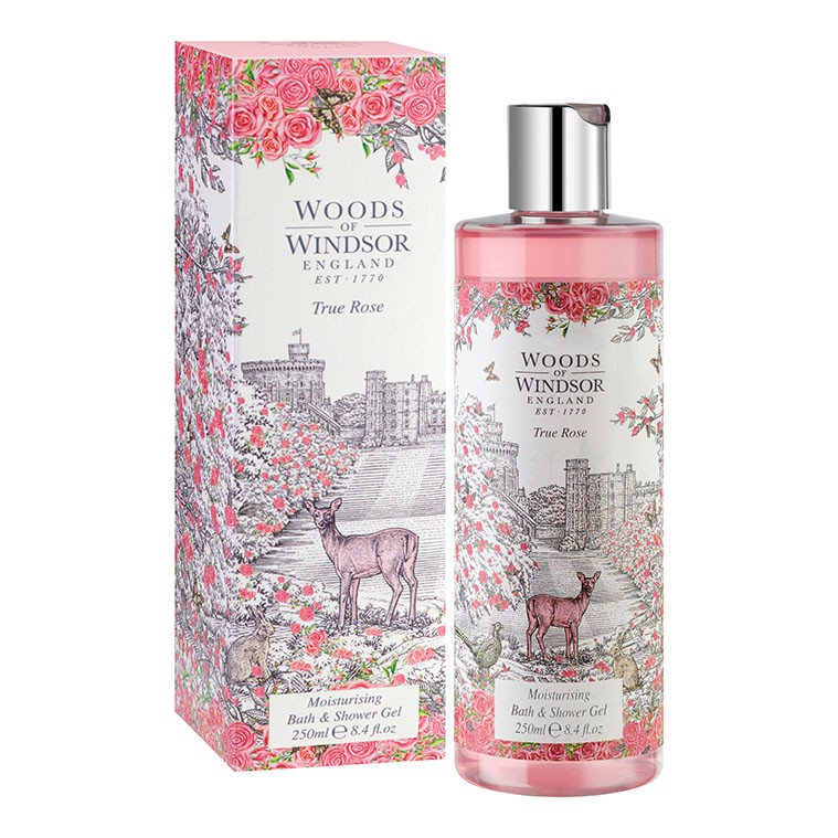 True Rose Moisturising Bath & Shower Gel
