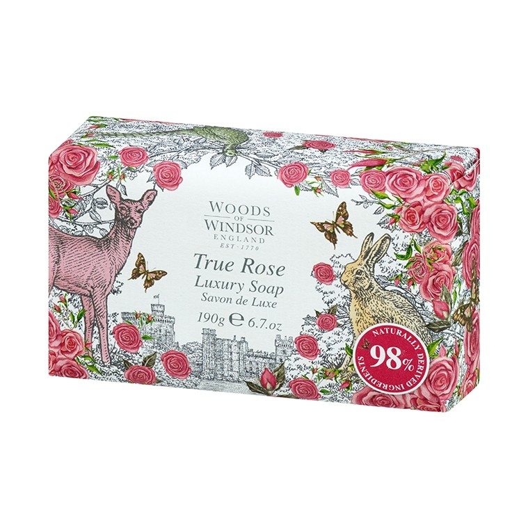 True Rose Bar Soap