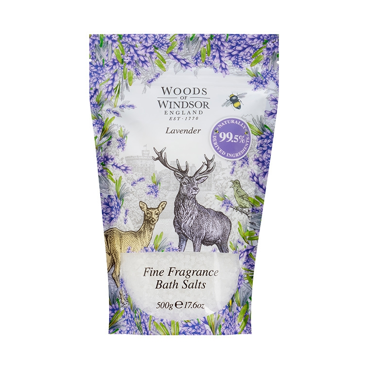 Lavender Fine Fragrance Bath Salts