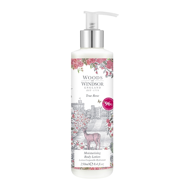 True Rose Moisturising Body Lotion
